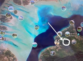 Land Of 10660 M2 by the Capital of Bora Bora Vue