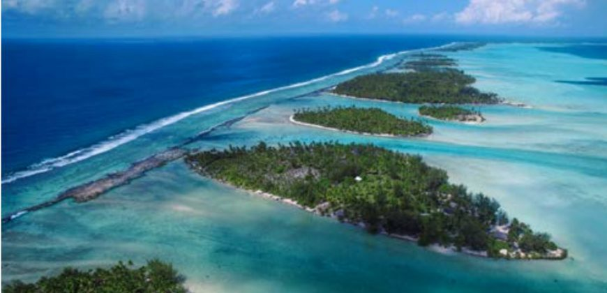 Private island in TAHAA French Polynesia 10 minutes from Bora Bora international airport by helicopter