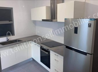 A louer très bel appartement F3 standing neuf, PAMATAI, FAA'A